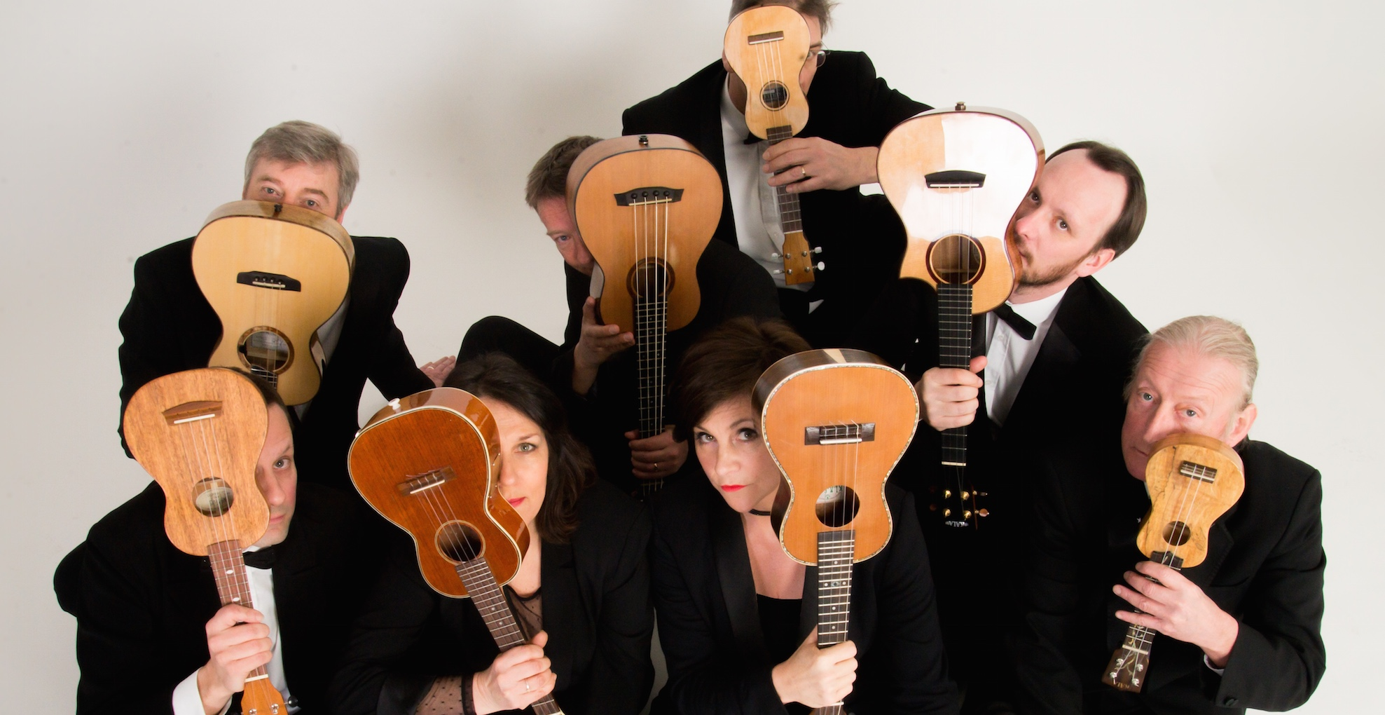 """The Ukulele Orchestra of Great Britain"" till Sverige!"
