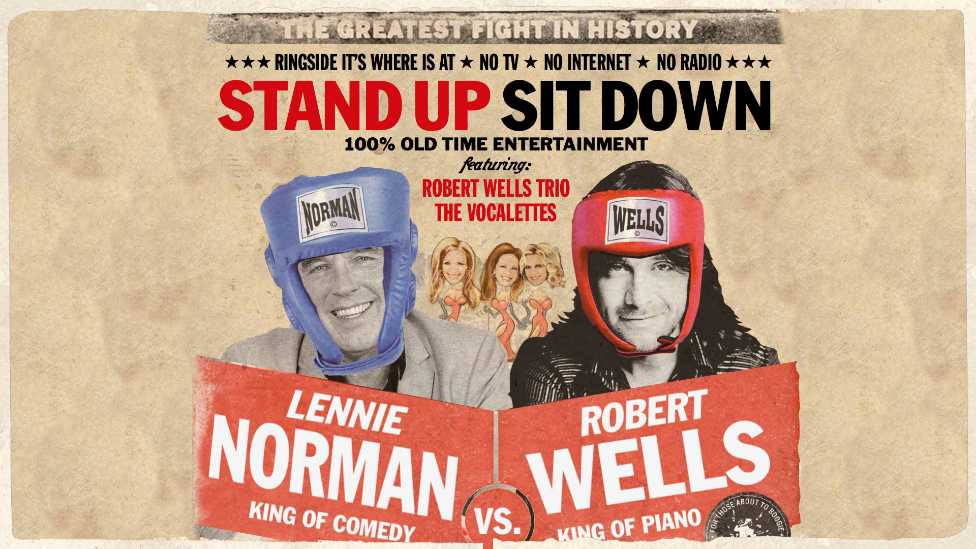 Robert Wells VS Lennie Norman